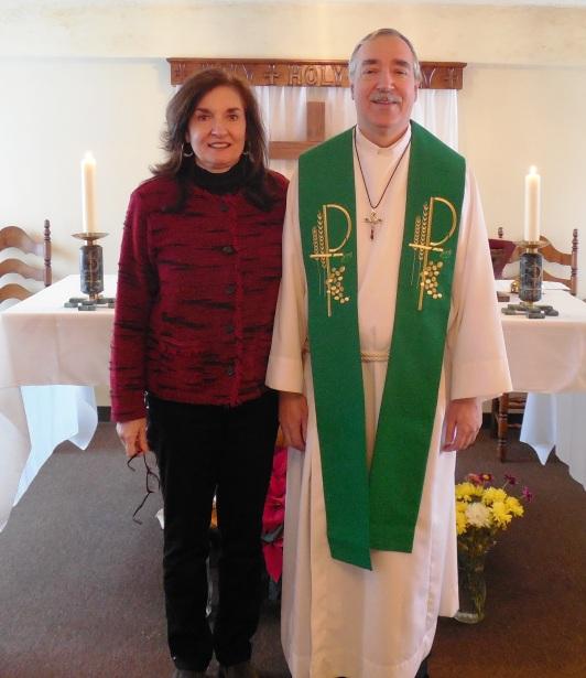 Fr. Paul and Andrea Slish, Altar Area